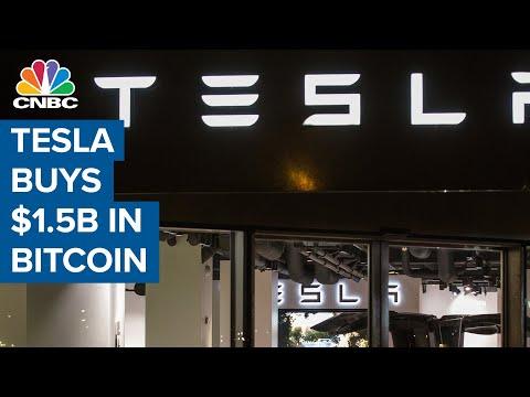 Tesla Buys $1.5 Billion In Bitcoin: SEC Filing