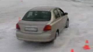 Автошкола БЦВВМ. Обучение зимнему контраварийному вождению автомобиля.Экстремальное вождение Барнаул(Автошкола категории
