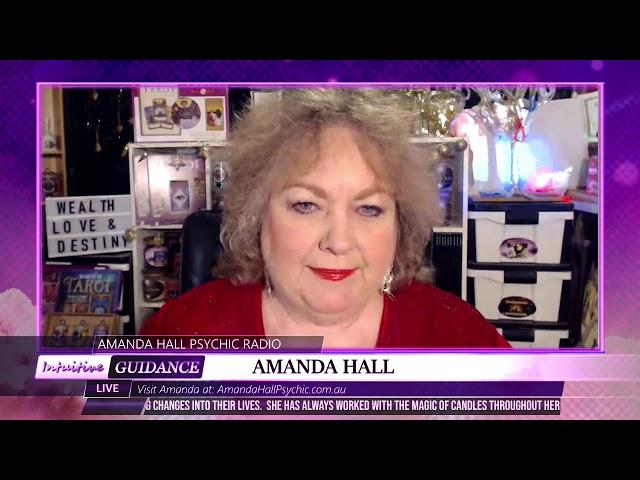 Amanda Hall Psychic - March 31, 2020