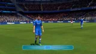 FIFA 14 PC 1080p Gameplay Chelsea vs Arsenal - World Class Difficulty