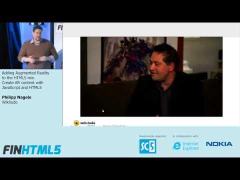 Adding Augmented Reality to the HTML5 mix, Philipp Nagele, Wikitude (5)
