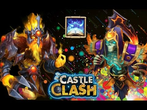 Castle Clash Making Lv5 Revite Crest Set! Evolving Phantom King And Reaper!