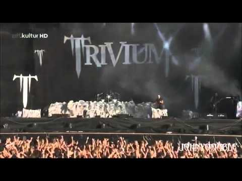 Trivium - Down From The Sky - Live At Wacken Open Air 2013 + Lyrics