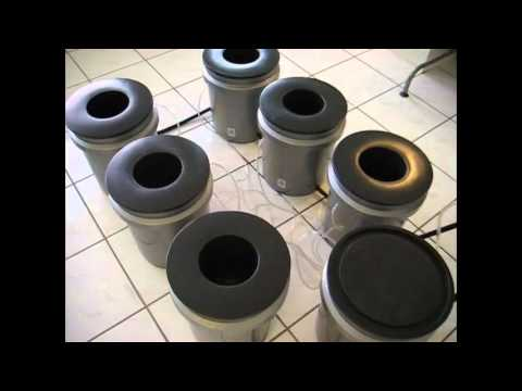 7PACK Recirculating DWC Deep Water Culture Hydroponic Grow System (High Aeroponics Harvests!)