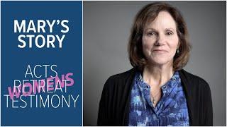 Mary's Story | ACTS Retreat Testimony