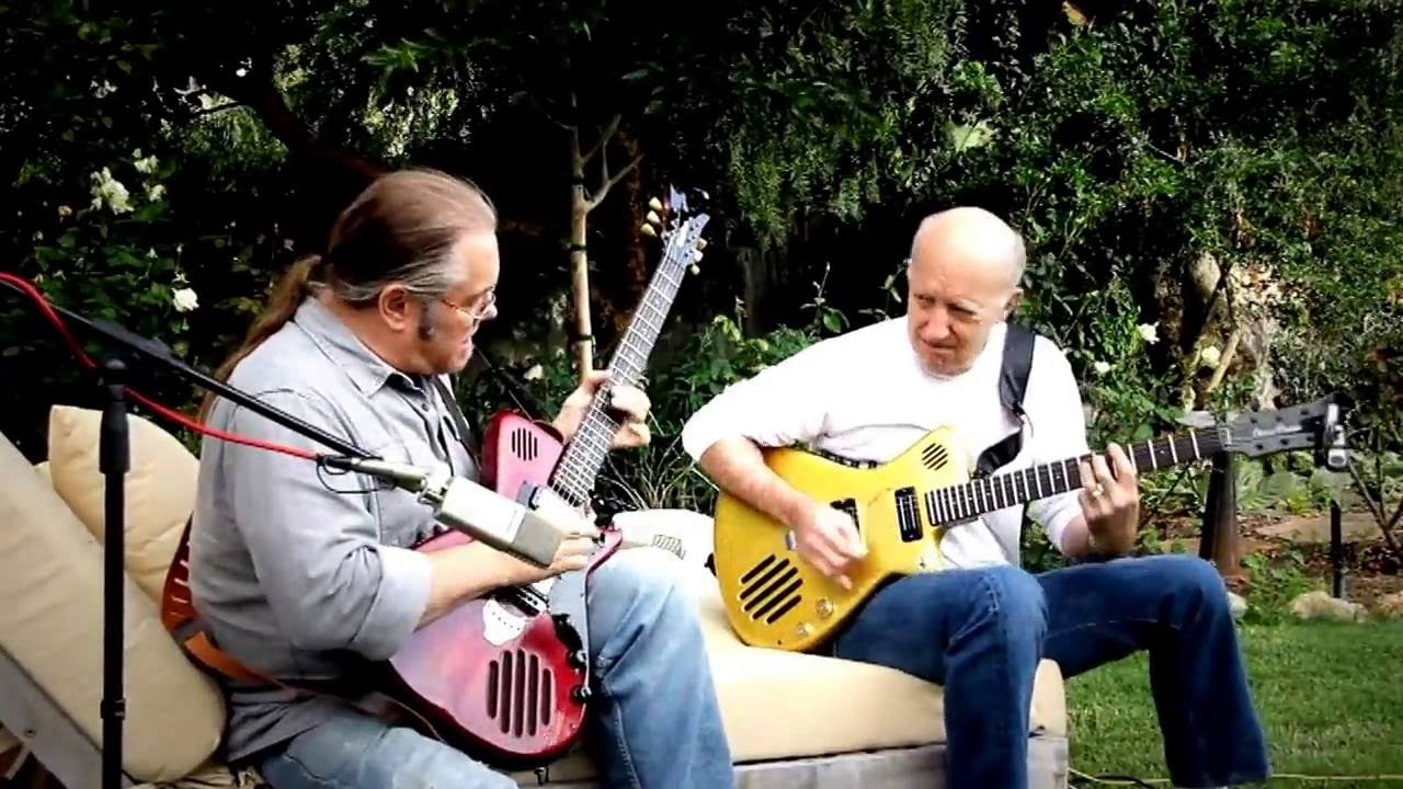 backyard no amp blues by jon woodhead blaze dillingham youtube