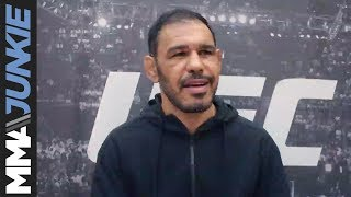 UFC Fight Night 137: Antonio Rogerio Nogueira pre-fight interview