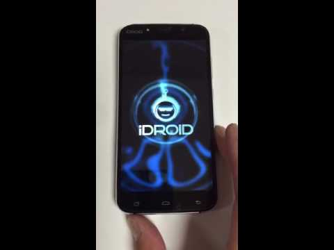 iDroid Balr X7 Mobile Phone Turning On Video in Philadelphia