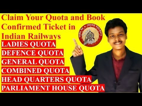 Claim Your Quota and Book Conform Ticket [Hindi]