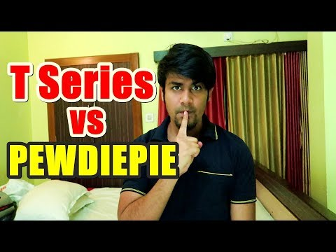 I am Supporting ? Pewdiepie vs T Series | Mathematics in Hacking