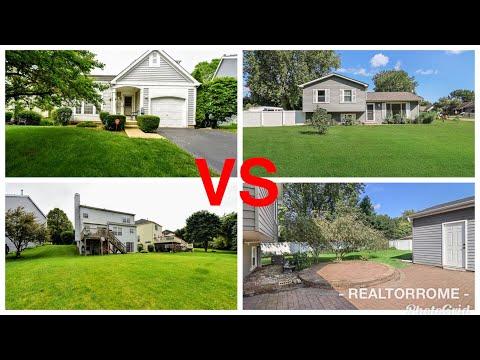 ILLINOIS HOUSES VS WISCONSIN HOUSES  | HOUSE TOUR | PLEASANT PRAIRIE, WI