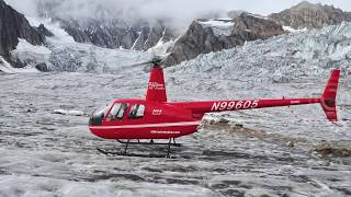 Alaskan Trimble Glacier by Helicopter