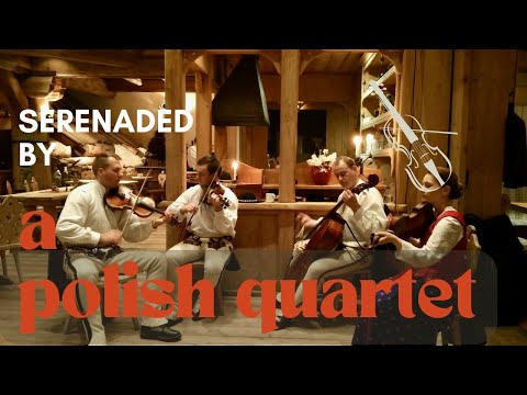 Serenaded by a Polish Quartet