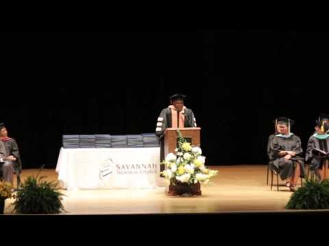 2016 Commencement Speakers - Savannah Technical College