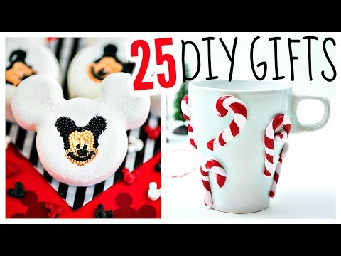 25 DIY Christmas Gifts 2017 // Cheap Gift Ideas & Presents!