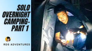 SOLO OVERNIGHT CAMPING OΝ AN ABANDONED ROOM | RDSAdventures