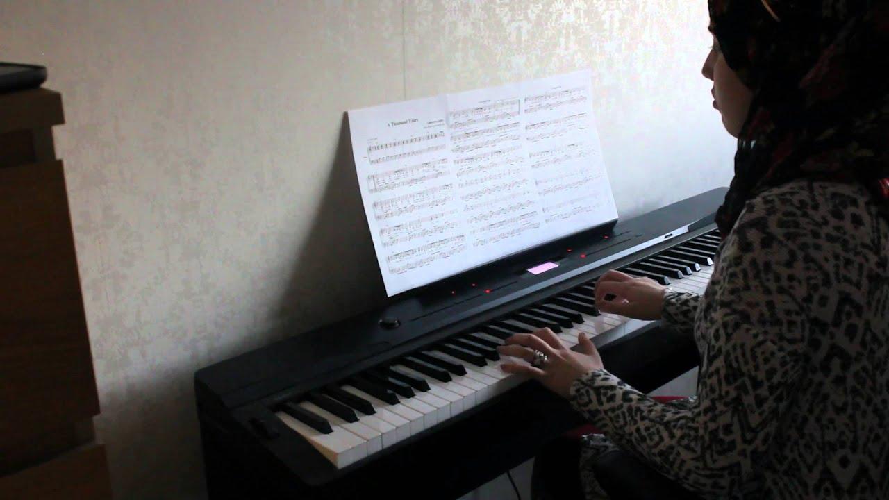Piano Keyboard Sheet Roblox Tousand Years - Year of Clean Water