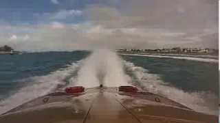 GOPRO fastest speed boat  in the world / key west 2013