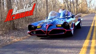 1966 Batmobile Test Drive - Replica Built from Original Barris Molds