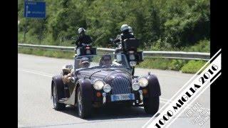 1000 Miglia 2016 Firenze - Evento Rievocazione corsa lunga distanza con auto d'epoca e di lusso