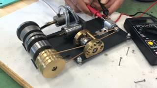復動式蒸気機関発電2