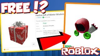 *FREE* HOW TO GET THIS INSANE FREE WINTER PRESENT From ROBLOX!? (Dominus, Robux or More?!)