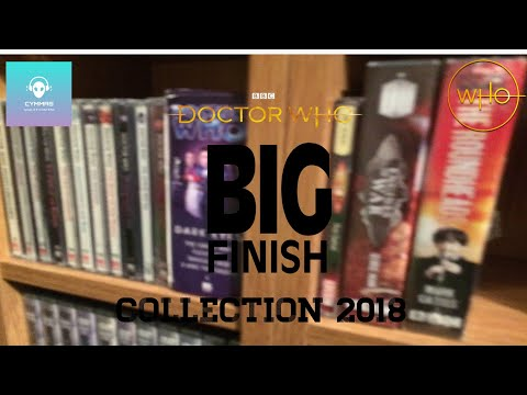 Doctor Who Big Finish And CD Collection (End Of 2018)