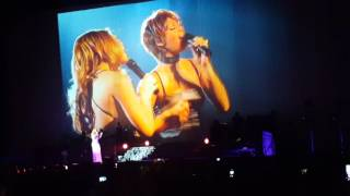 Mariah Carey Whitney Houston When You Believe 15/03/16 SSE Hydro Glasgow Live Sweet Sweet Fantasy UK