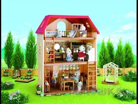 Sylvanian Families Набор Трехэтажный дом/ 3 Story House (Cedar .