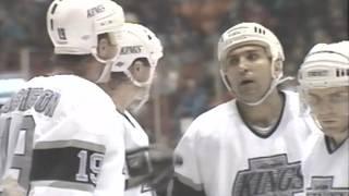 LA Kings 1989-90  Hockey Yearbook (VHS) Video