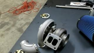 H&S Motorsports SX-E turbo 2nd Gen Kits at Double R Diesel!