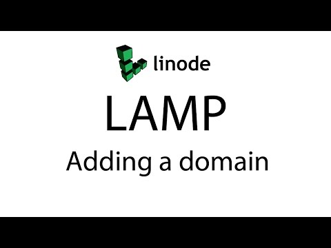 Adding a Domain to a LAMP Server with Linode