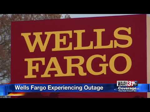 Wells Fargo Bank Outage