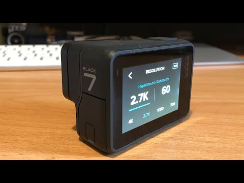 Best Settings for GoPro Hero 7 Black. Touch Screen Interface Tutorial  - Netcruzer TECH