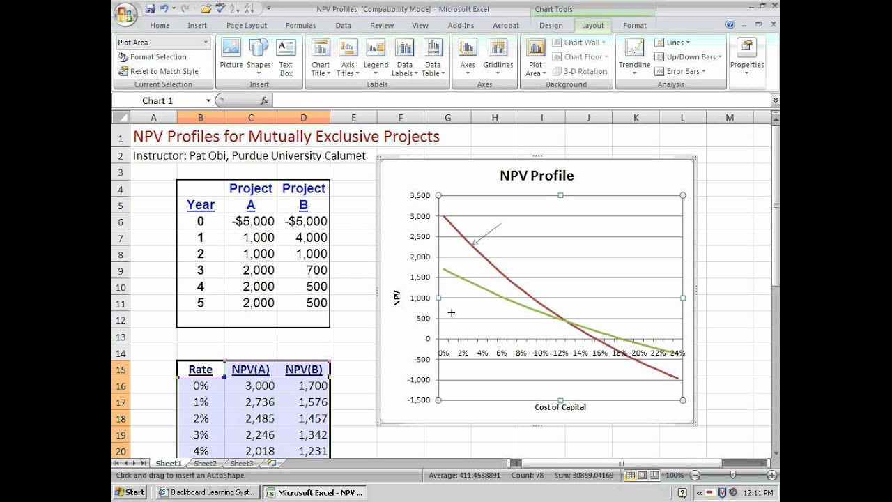 The NPV Profile