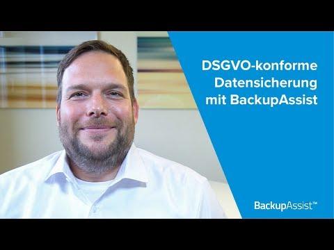 DSGVO-konforme Datensicherung mit BackupAssist Classic