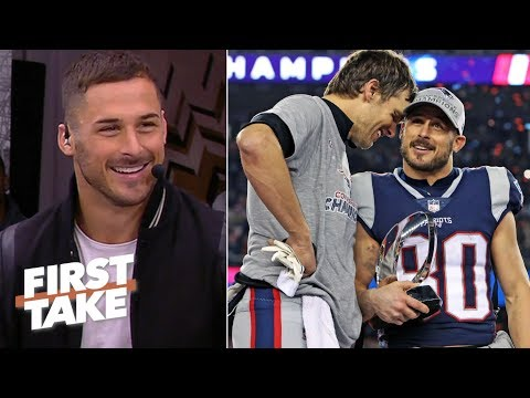 Danny Amendola picks the Patriots to beat the Rams in Super Bowl LIII | First Take