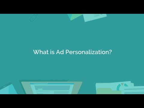 What is Ad Personalization