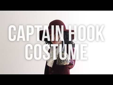 Disney's Captain Hook No Sew Halloween Costume For Kids