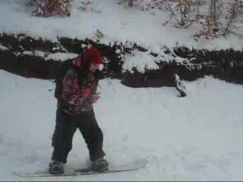 Alle prime armi con una tavola da snowboard youtube - Costruire tavola da snowboard ...
