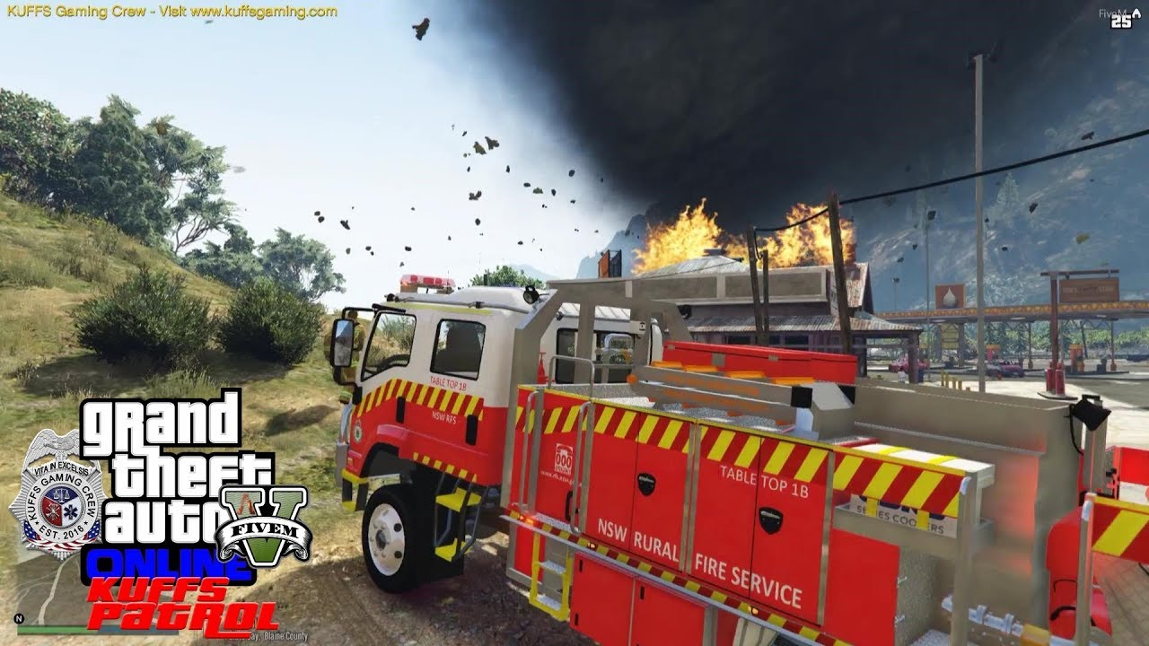 GTA 5 FiveM Australia Firefighter Roleplay - New South Wales Rural Fire  Service - KUFFS #259