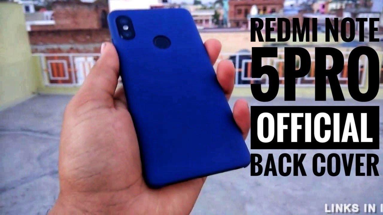 the latest e5905 c9f3f Redmi Note 5 PRO   Original Case   Mi India   REDMI NOTE 5PRO OFFICIAL MI  ORIGINAL BACK COVER