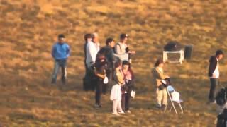 10/16(金) 阿蘇の草千里でSKE48ラブ・クレッシェンドの「コップの中の木...