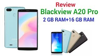 Review: Blackview A20 Pro, 2 GB RAM+16 GB ROM