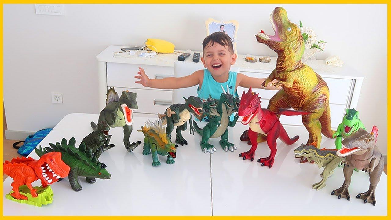 Dinozorlarımız Hastalandı İyileştirmemiz İçin Onları Pil Alıp İyileştirdik l Prens Yankı Dinozor