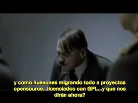 Hitler se entera que Oracle Compro Sun Microsystems