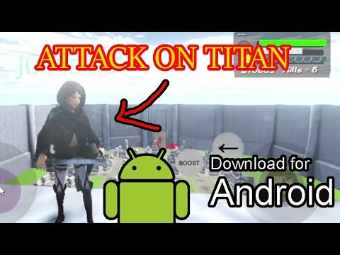 🔴 ATTACK ON TITAN ANDROID FANGAME V01.9 (CANCELED)