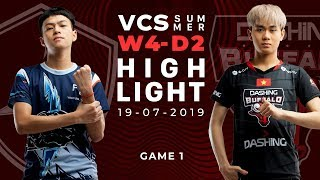 FTV vs DBL _HighLights [VCS Mùa Hè 2019][19.07.2019][Ván 1]