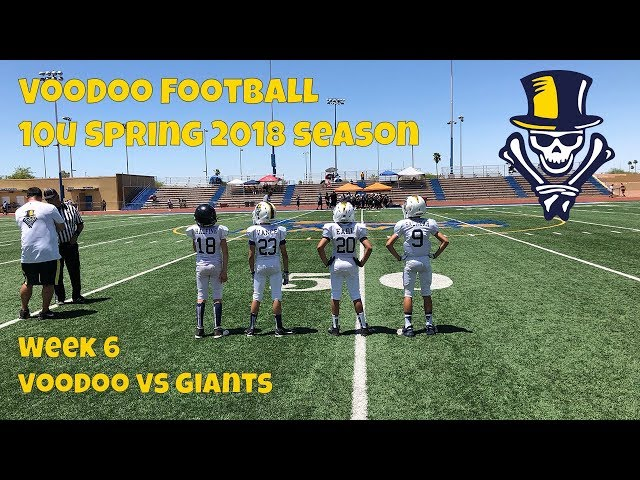 10U VooDoo vs Giants 5-5-2018