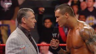 WWE Chairman's Head Kicked Off